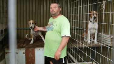 Tony Brown gave the dogs to Thompson but insists he didn't want them to be killed.