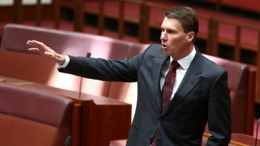Senator Cory Bernardi is going to need to tell a story that extends a few chapters beyond poofter-bashing and just another Muslim scare.