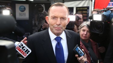 Calls to set a tougher emissions reduction target: Prime Minister Tony Abbott.