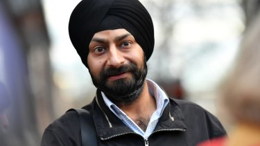 Sagardeep Singh Arora is challenging Melton Christian College's decision not to enrol his son unless he agrees not to wear his patka, a Sikh head covering.