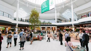 Vicinity Centres and co-owners Perron Group have opened the first stage of The Glen's $460 million redevelopment in Melbourne's south-east.