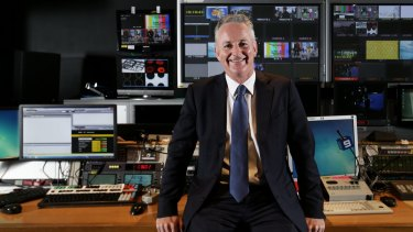 Nine Entertainment chief executive Hugh Marks.