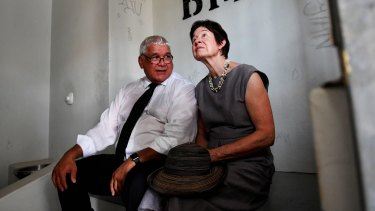 Royal commissioners  Mick Gooda and Margaret White.