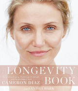 Cameron Diaz has posed make-up free for the cover of The Longevity Book.