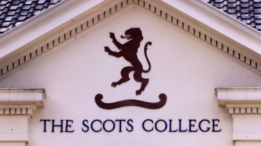 "Scots College says it benchmarks itself against the best schools in the world and ""invested heavily"" in the development of its staff."