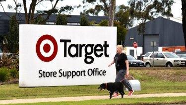 Target is moving out of its Geelong facility.
