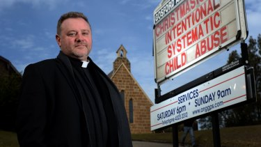 Gosford Anglican Church's the Reverend Rod Bower.