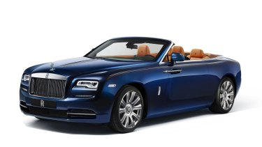 A Rolls Royce was purchased in the name of research.