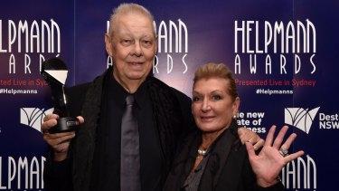 Eric Robinson and wife Patti Mostyn.