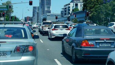 Traffic report: Sydney has seven of the 10 slowest roads in Australasia.