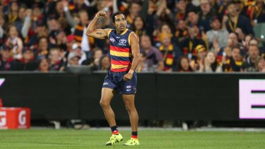 Eddie Betts: The former Carlton player has signed a three-contract extension with Adelaide.