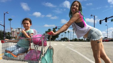 The Florida Project, Sean Baker's follow-up to Tangerine.