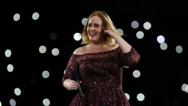 Adele charmed fans in Brisbane over the weekend, but got more than she bargained for when she was attacked by mosquitoes.