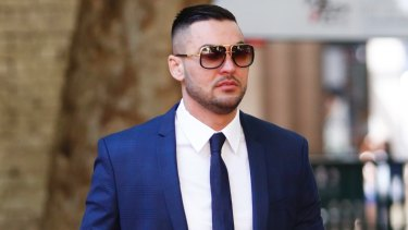Salim Mehajer in Sydney on Thursday.