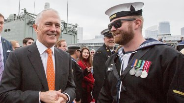 PM Malcolm Turnbull faces his first party room meeting after the election on Monday.