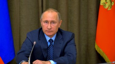 """Russian President Vladimir Putin wants to """"break the Anglo-Saxon monopoly on the global information streams""""."""