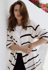 "Sass & Bide ""Beyond the Sun"" knitted jacket, $350. Camilla and Marc blouse, $260. Max Mara pants, $976, from Net-a-Porter."