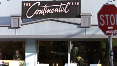 The Continental Cafe in Greville Street was a music institution.