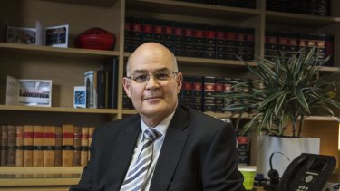 Gary Ulman, President of the Law Society of NSW.