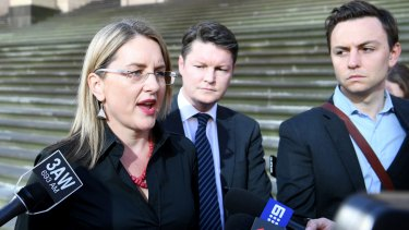 "Public Transport Minister Jacinta Allan says taxis will be put on a ""level playing field""."