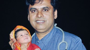 Celebrating baby girls at his own cost: Dr Ganesh Rakh.