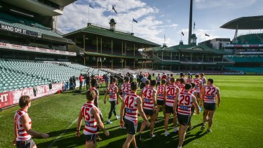 Home sweet home: Sydney will play all their home games at the SCG.