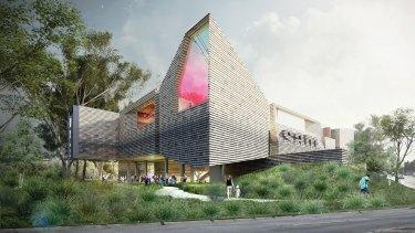 John Wardle Architects' proposal for SAM.