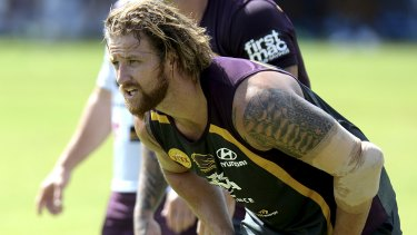 Not worried by Cowboys: Korbin Sims.