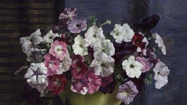 Nora Heysen's Petunias (1930).