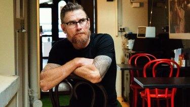 Mark Jensen, head chef at Red Lantern.