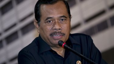 Satisfied with the way the execution was carried out ... Indonesia's Attorney-General HM Prasetyo.
