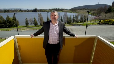 Dan Stewart in September last year, just after leaving the Land Development Agency for Elton Consulting, which works on the Manuka Oval bid, the casino bid and the Riverview housing project.