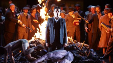 Seductive: Saimir Pirgu as Shepherd in Opera Australia's <i>King Roger</i>.