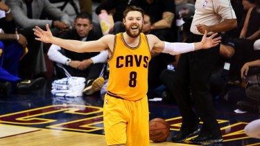 Matthew Dellavedova is staying with the Cavs.