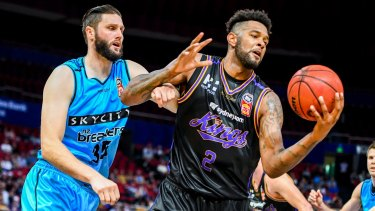 Hard cut: Sydney Kings big man Jeremy Tyler has been released in order to give young talent a chance.