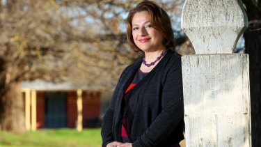 Former Liberal frontbencher Sophie Mirabella at her Wangaratta home.