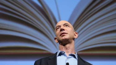 The sky's the limit for Amazon boss Jeff Bezos, who also owns the Washington Post.