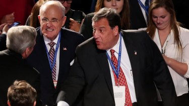 Rudy Giuliani and Chris Christie are likely to be named in Trump's cabinet.