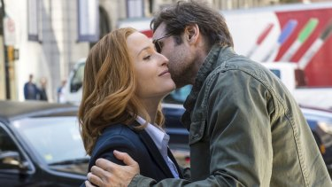 <i>The X-Files</i> turned GillianAnderson and David Duchovny into international stars.