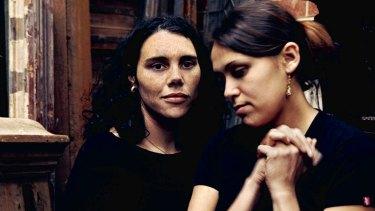 Nardi Simpson and Kaleena Briggs, of the Stiff Gins.
