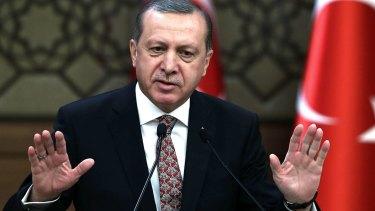 Turkish President Recep Erdogan.