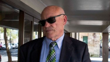 Ian Macdonald in Sydney shortly before he was found guilty.