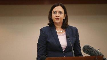 Queensland Premier Annastacia Palaszczuk wants a national approach to domestic violence.