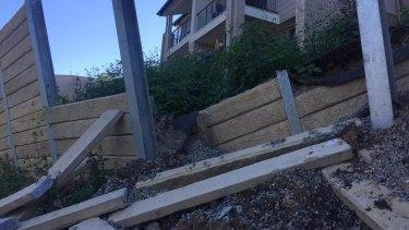 Palm Beach/Elanora retaining walls.