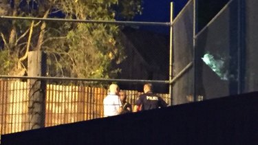 Investigators at the scene where four people died on a ride at Dreamworld.