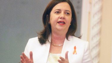 """I would rather take these precautionary measures now than have people's lives put at risk"": Queensland Premier Annastacia Palaszczuk."