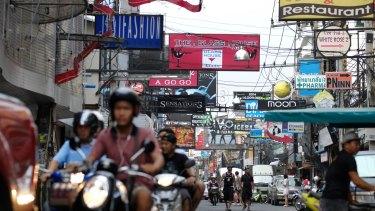 Pattaya's Walking Street.