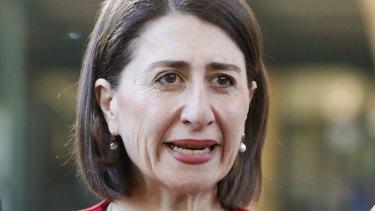NSW Premier Gladys Berejilkian.