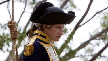 David Wenham plays the role of Arthur Phillip in the British TV series <i> Banished</i>.