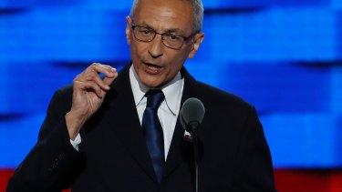 Clinton campaign manager John Podesta.